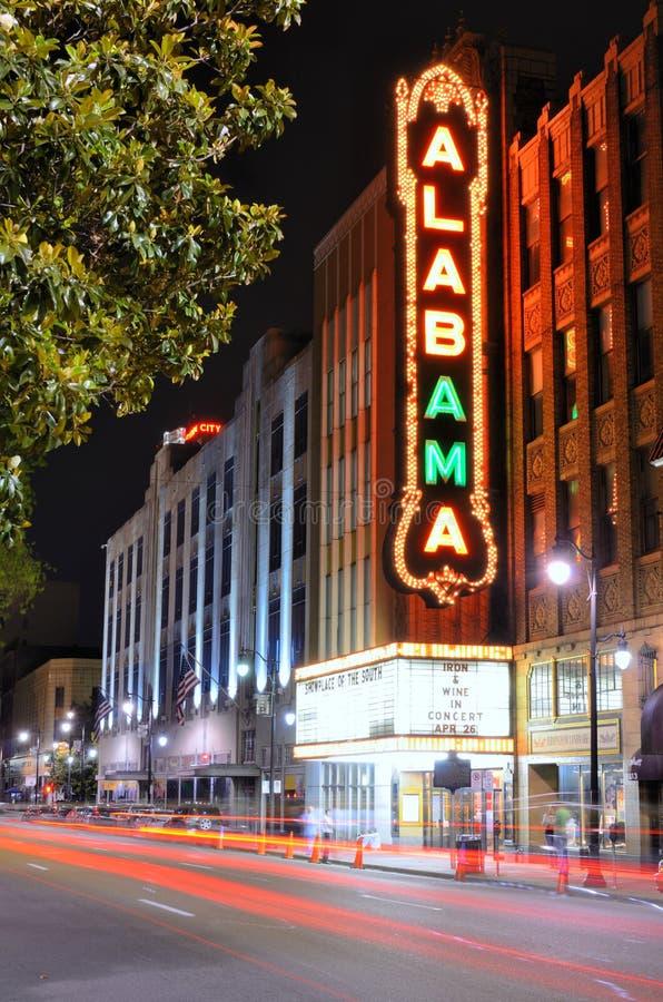 Théâtre de l'Alabama photographie stock