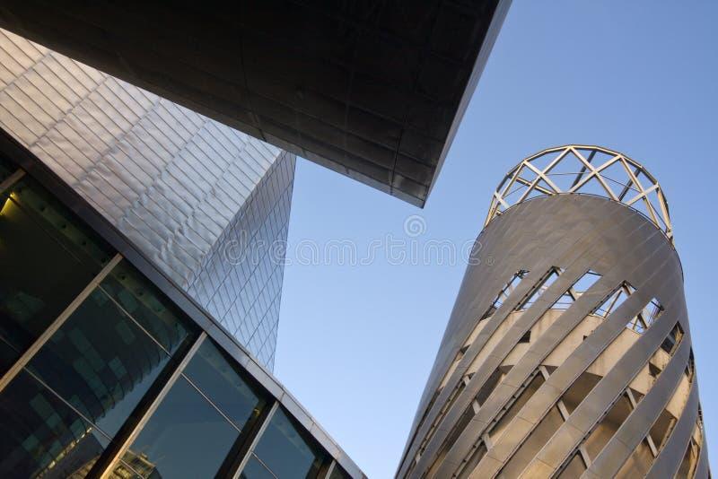 Théâtre de Lowry, quais de Salford, Manchester image stock