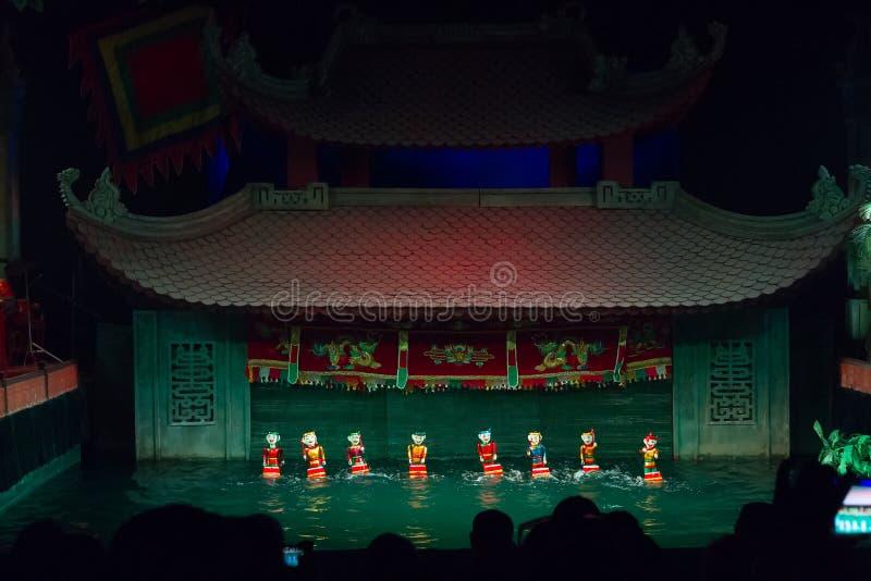 Théâtre de marionnettes photo stock