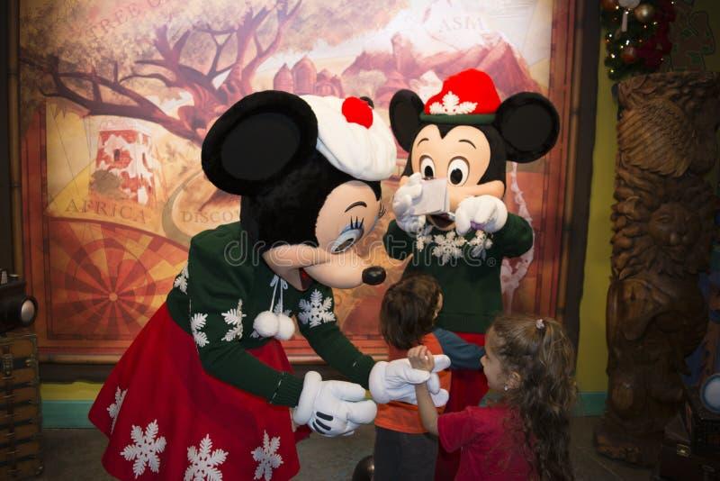 Théâtre de place - royaume magique Walt Disney World image libre de droits