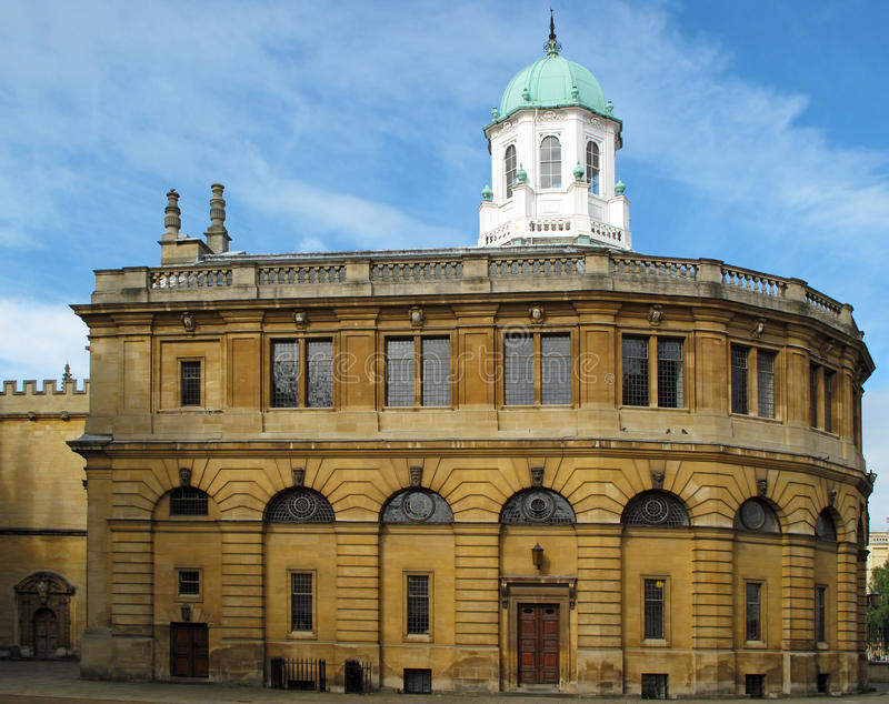 Théâtre de Sheldonian photo stock