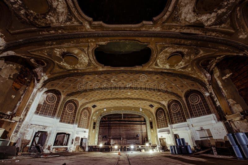 Théâtre de variété - Cleveland, Ohio photo stock