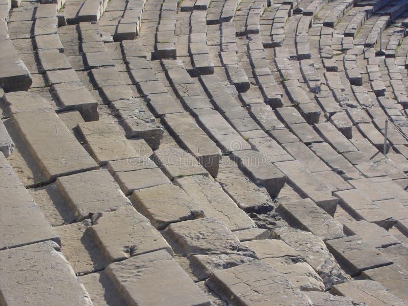 Théâtre du grec ancien image stock