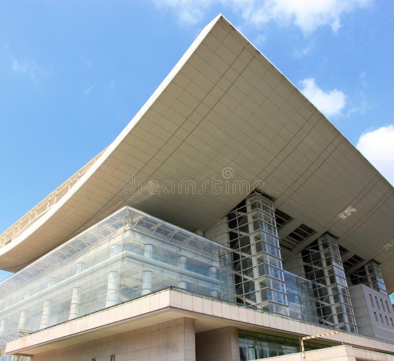 Théâtre grand de Changhaï photographie stock