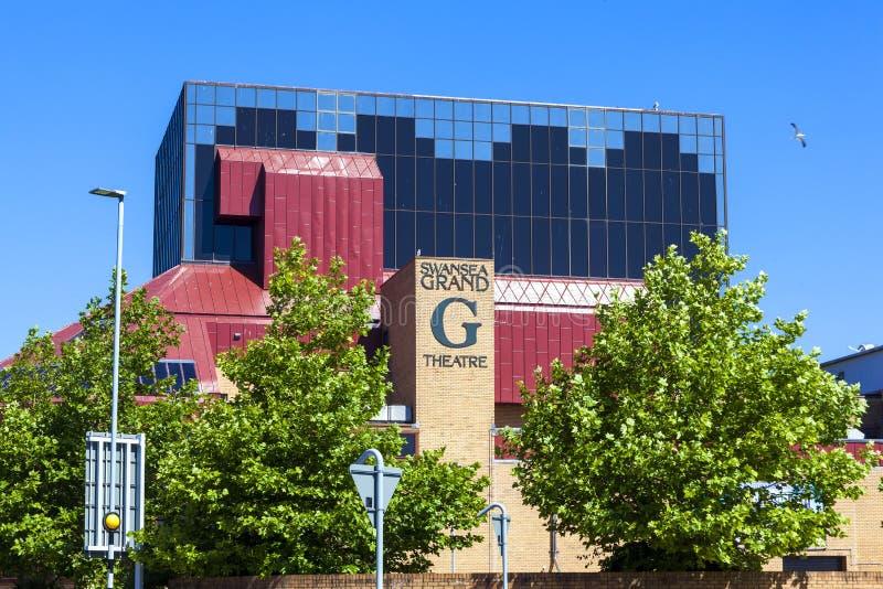 Théâtre grand de Swansea images stock