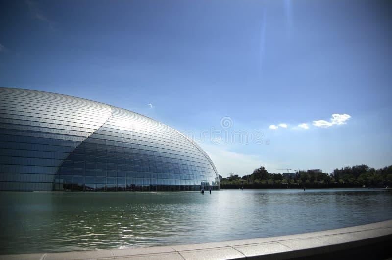Théâtre grand national à Pékin image libre de droits