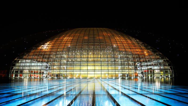 Théâtre grand national de la Chine image libre de droits