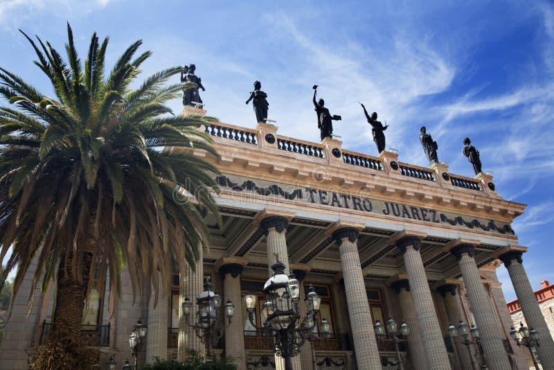 Théâtre Guanajuato Mexique de Juarez image libre de droits