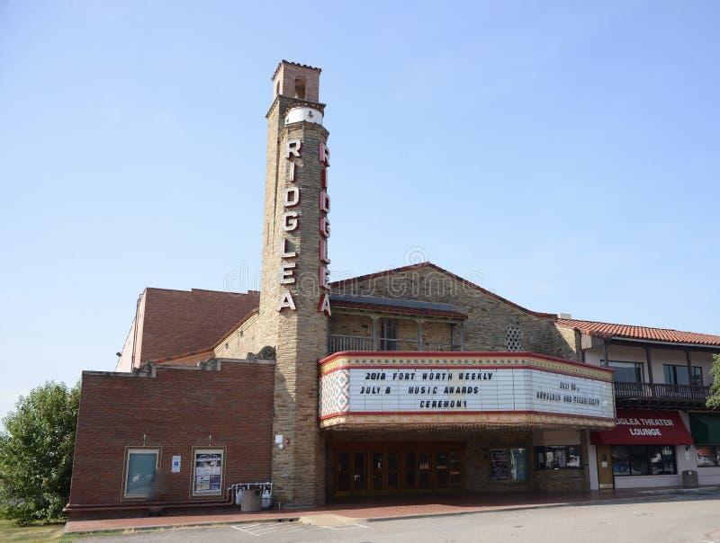 Théâtre historique de Ridglea, Fort Worth, le Texas photos libres de droits