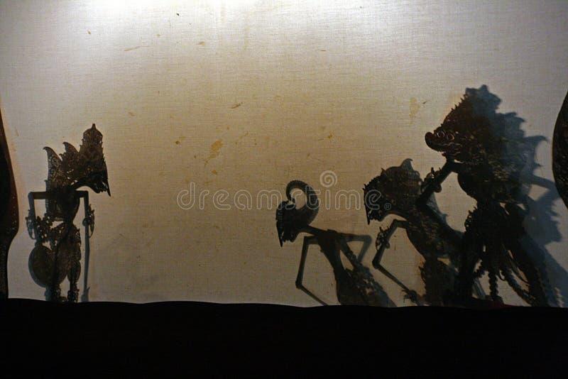 Théâtre Indonésie d'ombres photographie stock libre de droits