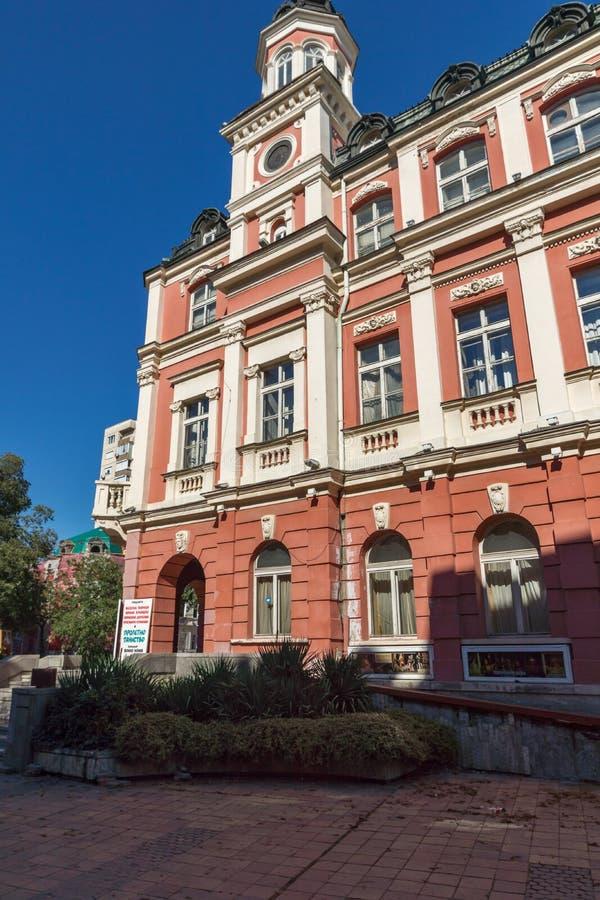 Théâtre Ivan Radoev de drame dans la ville de Pleven, Bulgarie photos libres de droits