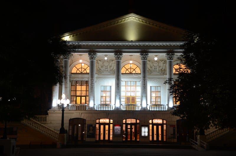 Théâtre la nuit photos libres de droits