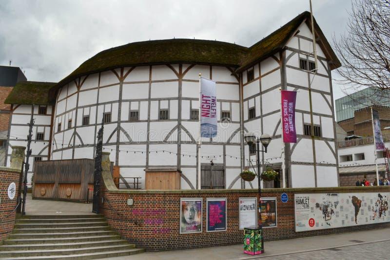 Théâtre Londres de globe de Shakespeare image libre de droits