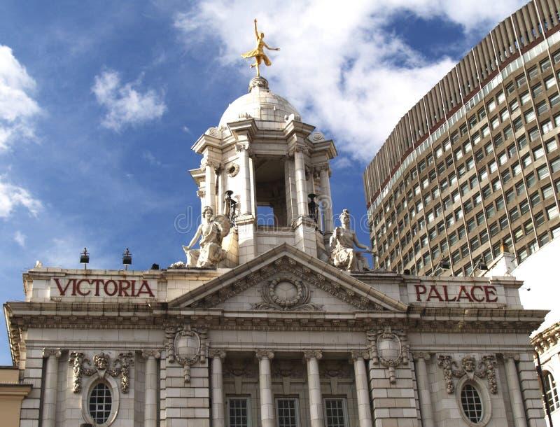 Théâtre Londres de palais de Victoria image stock
