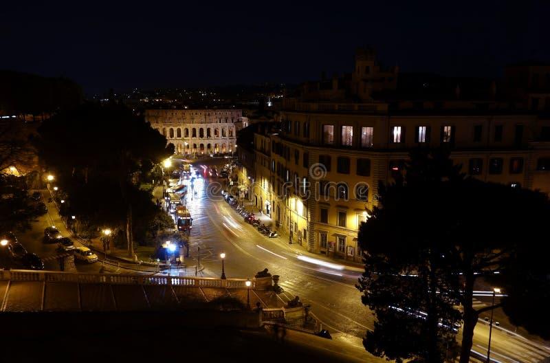 Théâtre Marcellus à Rome photo libre de droits