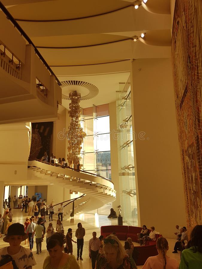 Théâtre national Bucarest images stock