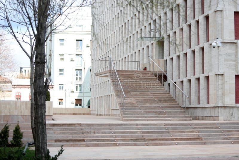 Théâtre national de Bucarest image stock