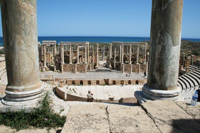 Théâtre romain photos stock