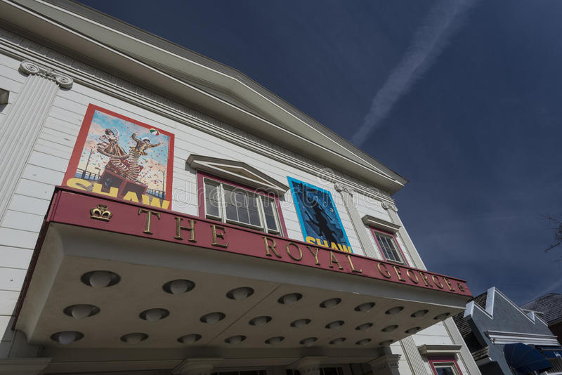 Théâtre royal de Georges image libre de droits