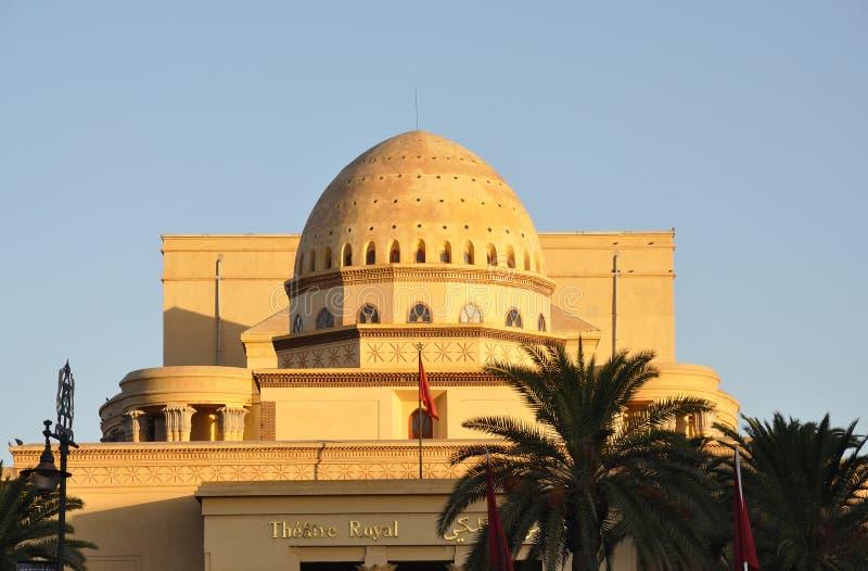 théâtre royal de Marrakech images libres de droits