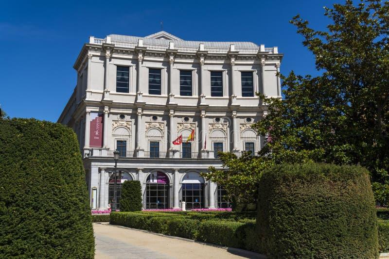 Théâtre royal, Madrid, Espagne photo stock