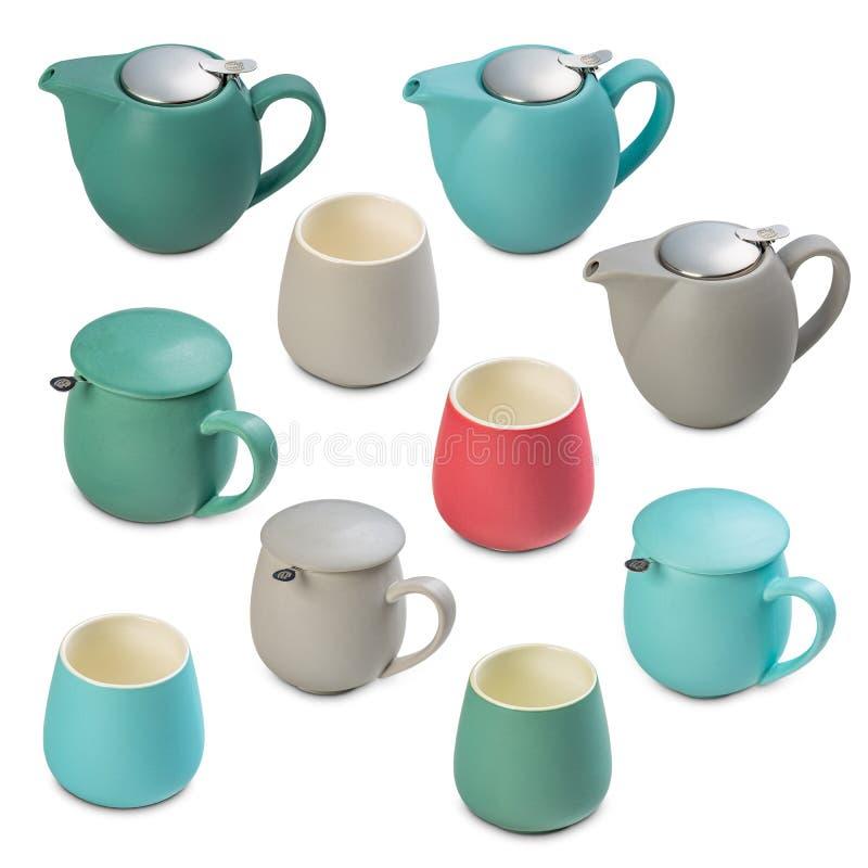 Thé avec main et tasse photographie stock