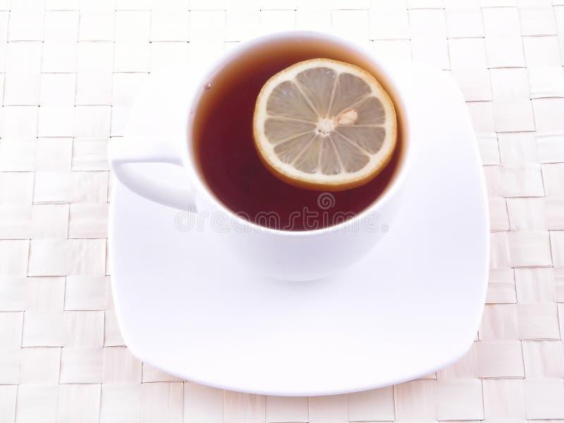 Thé avec plaisir images stock
