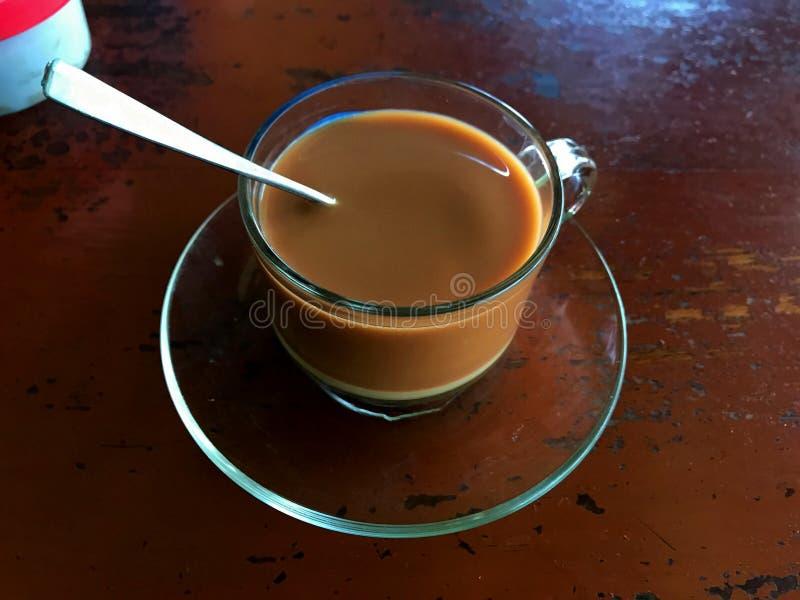 Thé birman de lait images stock