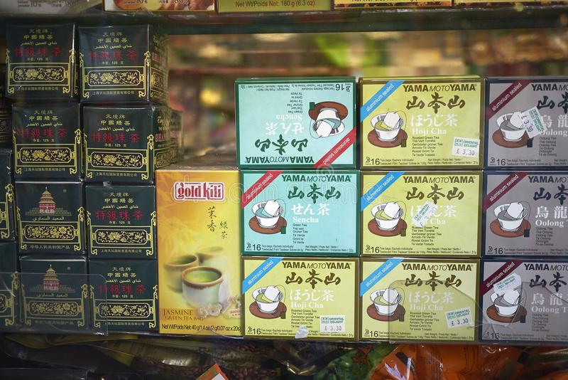 Thé chinois assorti photo libre de droits