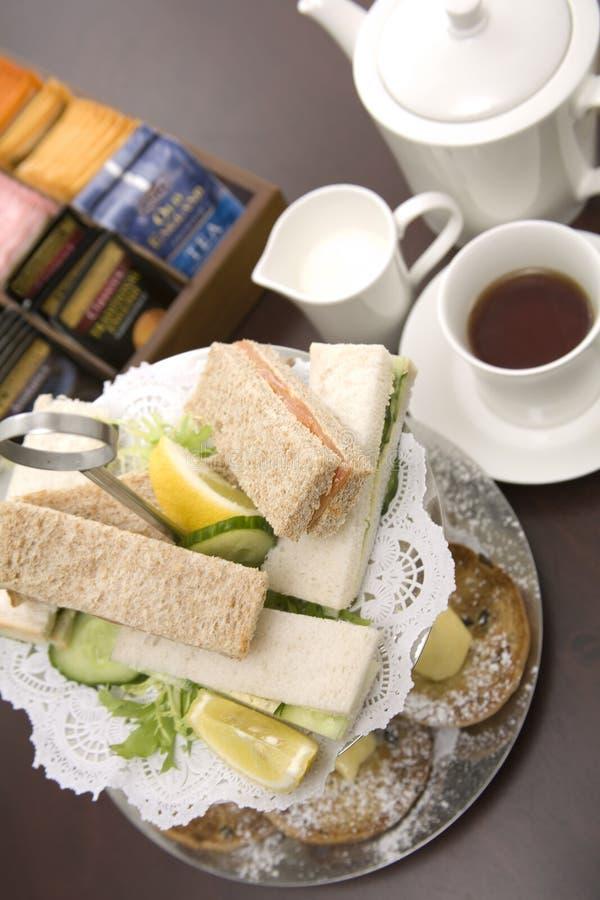 Thé d'après-midi. photographie stock