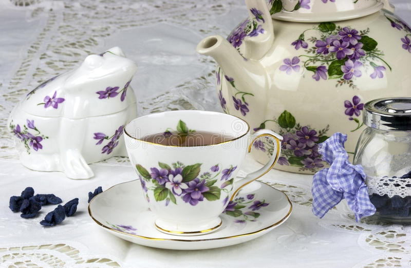 Thé d'après-midi anglais photo stock