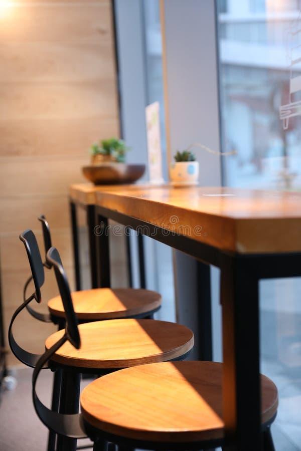 Thé d'après-midi dans un café photos stock
