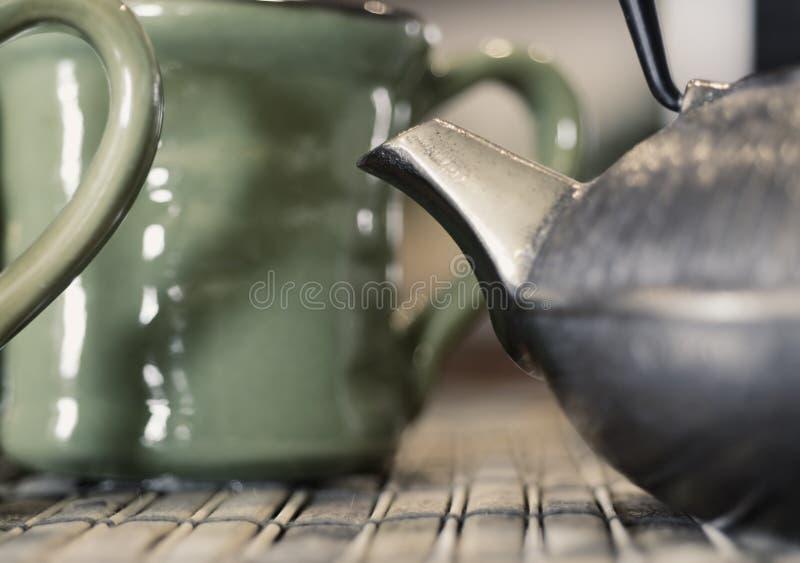 Thé dans le système de la Chine photo libre de droits