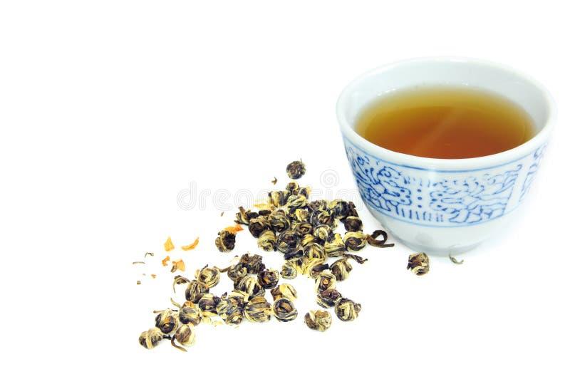 thé de 2 Chinois photographie stock