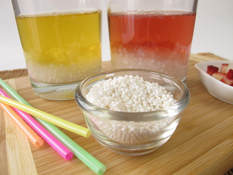 Thé de bulle de tapioca photos stock