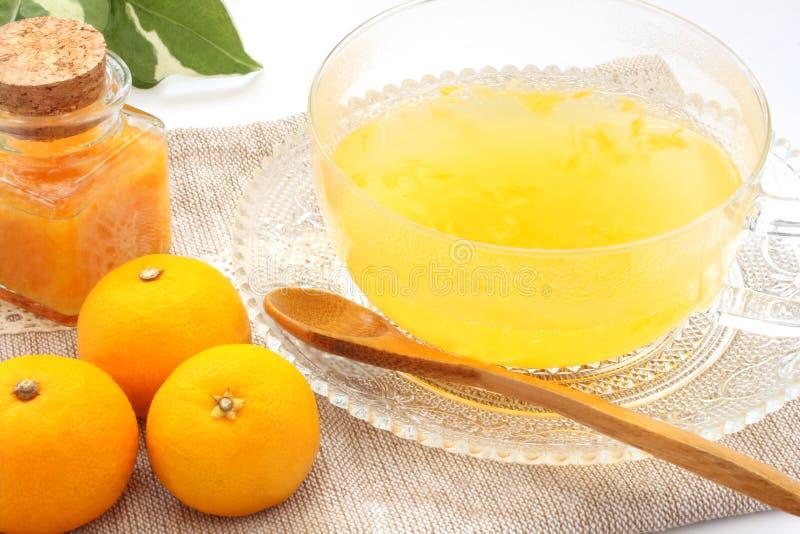 Thé de Citron, boisson coréenne image stock