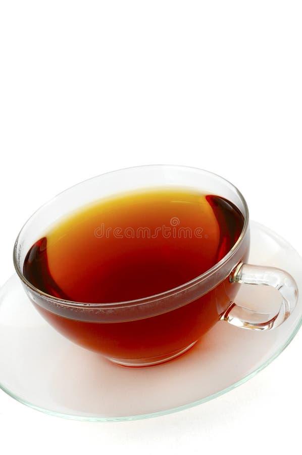 Download Thé de cuvette photo stock. Image du assiette, glace, blanc - 8650412