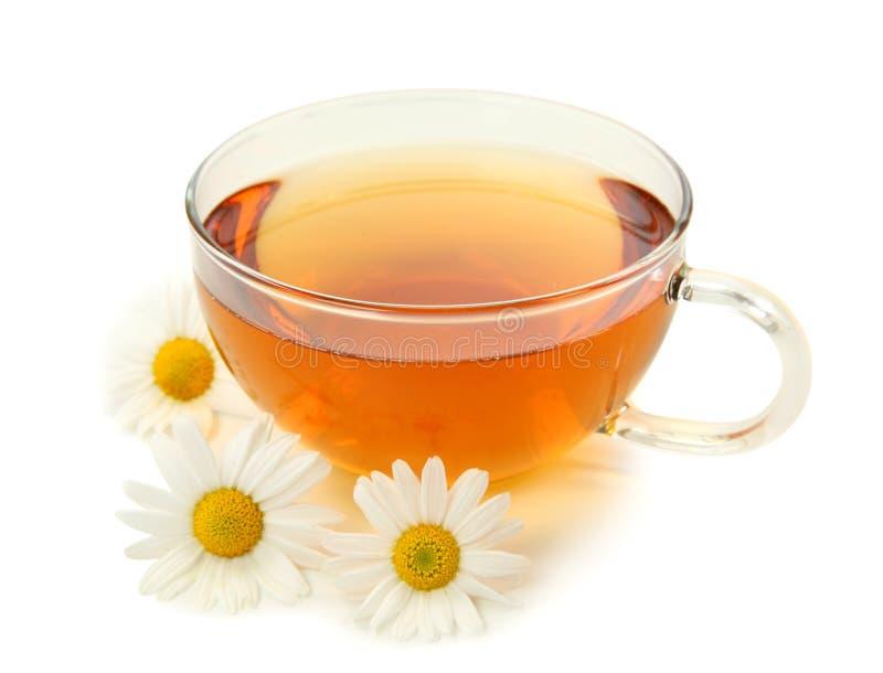 thé de fines herbes de camomille images stock