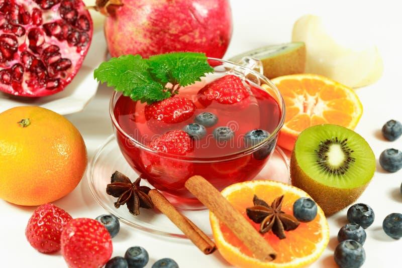 Thé de fruit photos libres de droits