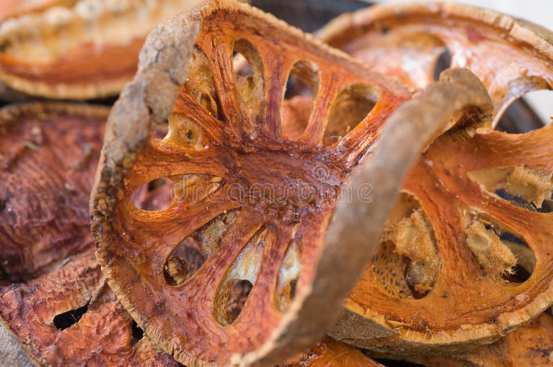 Thé de fruit de Bael photo libre de droits