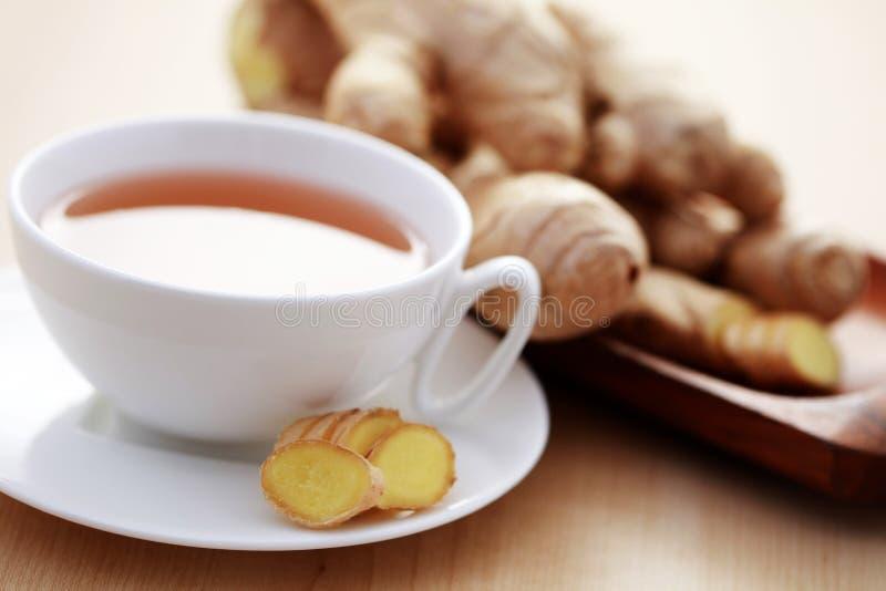 Thé de gingembre photo stock