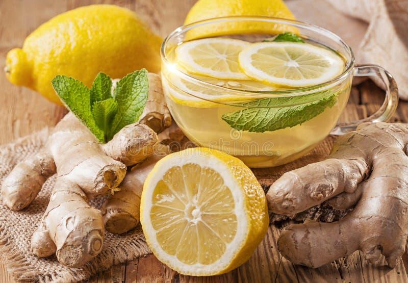 Thé de gingembre photos stock