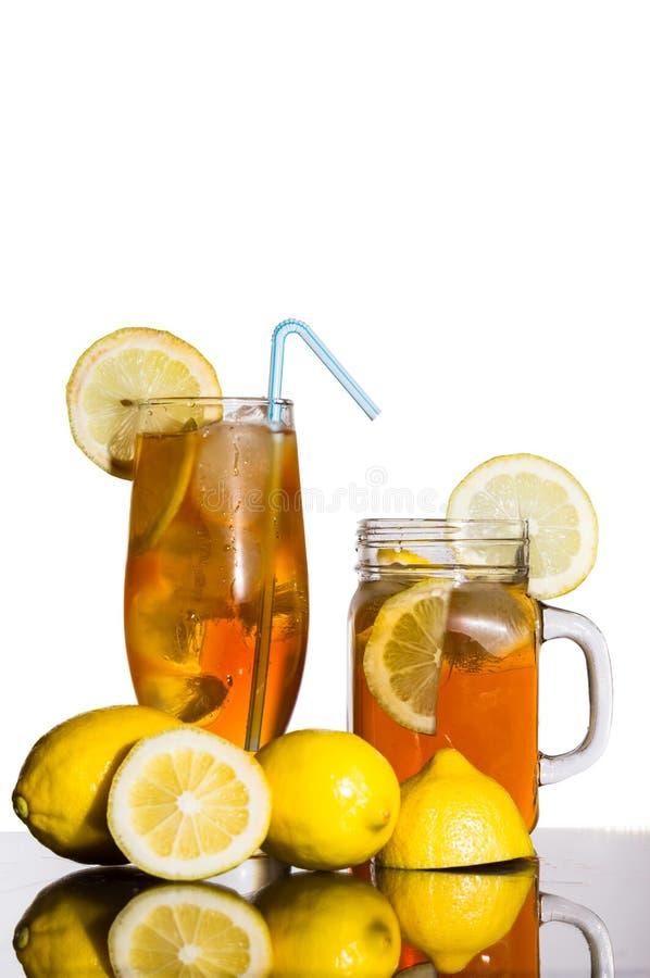 Thé de glace de citron photo stock
