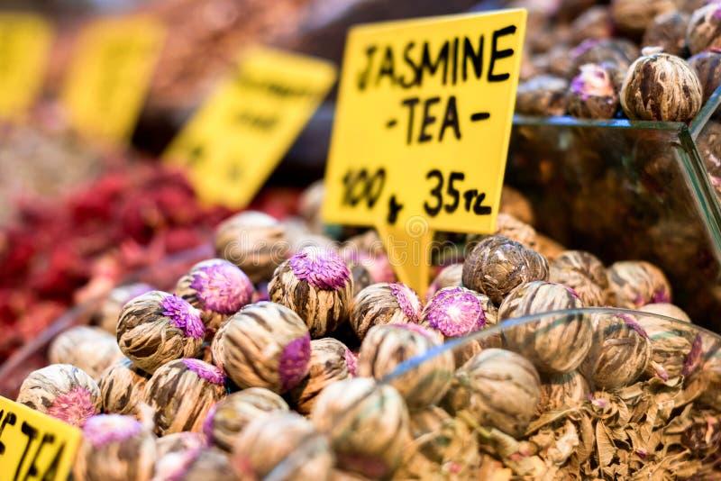 Thé de jasmin image stock