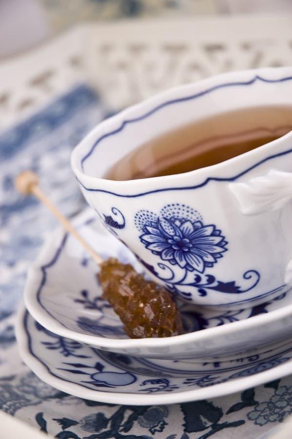 thé de l'anglais de cuvette image libre de droits