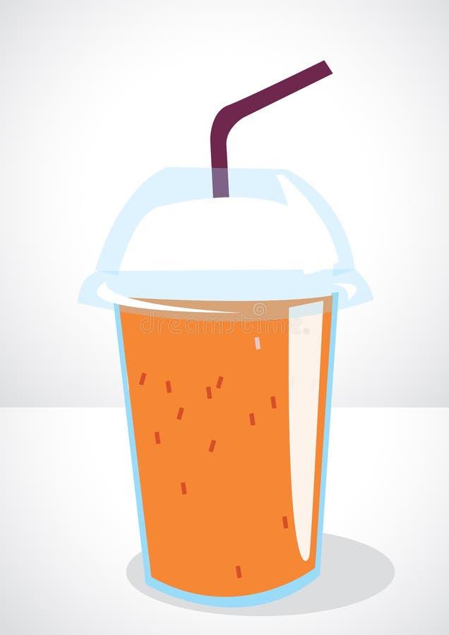 Thé de lait glacé image stock