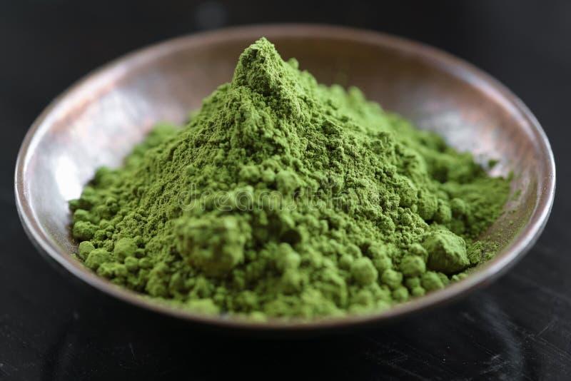 Thé de Matcha images stock