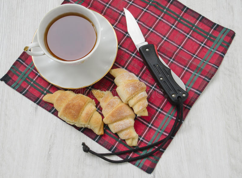 Thé de matin image stock