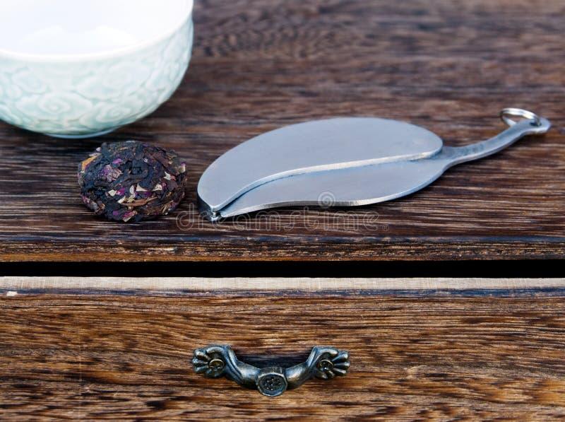 Thé de Puer images stock