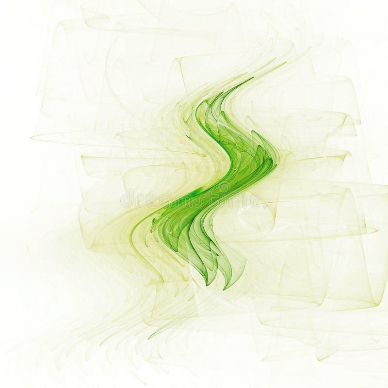 Thé vert illustration de vecteur